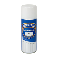 Hammerite Radiatorlak Spray Hoogglans Wit 400 ml