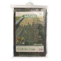 Nature Gronddoek Zwart 5.20x5m