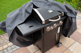 Nature Beschermhoes Gasbarbecue Grijs H125x180x80cm