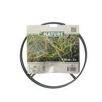 Nature Plantensteun Kunststof Ø 30 cm - 3 Stuks