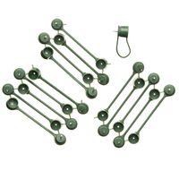Nature Klimplantgeleider Groen - 15 Stuks