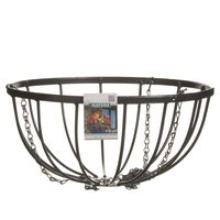 Nature Hanging Basket Smeedijzer zwart H20xØ35cm