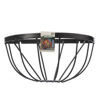 Nature Hanging Basket Smeedijzer zwart H19x½Ø40cm