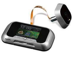 DX Digitale Deurspion 2.0 RVS Look met SD Kaart