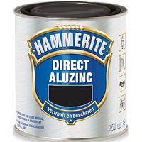 Hammerite Metaallak Alu-Zinc Zwart 750 ml