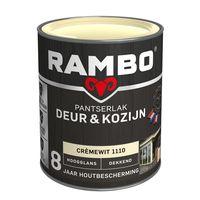 Rambo Pantserlak Deur/Kozijn Hoogglans Crème Wit 750 ml