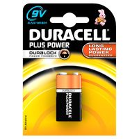 Duracell Blokbatterij Plus Power 9 Volt