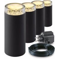 Garden Lights Tuinlamp set Linum LED 4 Stuks