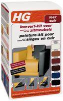 HG Leerverf Kit Zwart 500 ml