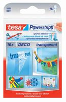 Tesa Powerstrips Decostrips Transparant 16 Stuks