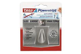 Tesa Powerstrips Plakhaak Large Metaal Concave
