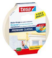 Tesa Afplaktape Premium Classic 19 mm 50 Meter