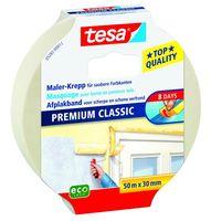 Tesa Afplaktape Premium Classic 30 mm 50 Meter