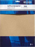Elma Schuurpapier Flint Middel 28 x 23 cm 5 Stuks