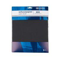 Elma Schuurpapier Waterproof Extra Fijn 28 x 23 cm 5 Stuks