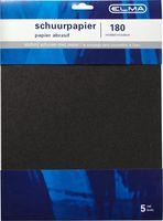 Elma Schuurpapier Waterproof Middel 28 x 23 cm 5 Stuks