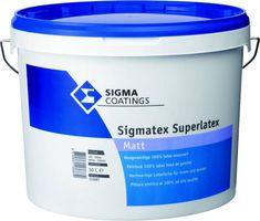 Sigma Superlatex Sigmatex Matt Wit 10 Liter