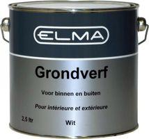 Elma Grondverf Wit 2.5 Liter