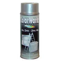 MoTip Zinkspray Aluminiumkleurig Glans 400 ml