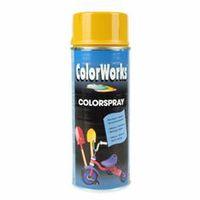 MoTip Hoogglans Spuitlak Colorspray Goud Geel 400 ml