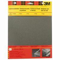 3M Schuurpapier Watervast P240 Fijn 4 Stuks