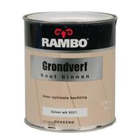 Rambo Grondverf Binnen Wit 750 ml