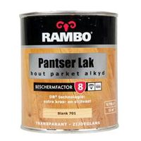 Rambo Parketlak Hoogglans Alkyd Blank 701 - 250 ml