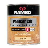 Rambo Parketlak Zijdeglans Alkyd Blank 701 - 750 ml