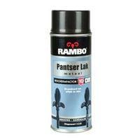 Rambo Pantser Metaallak Zijdeglans Wit 400 ml