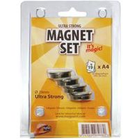 MagPaint Magneet Staal Ultra Sterk Ø 29 mm 4 Stuks