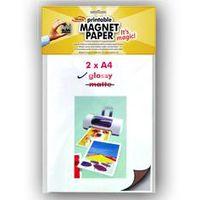 MagPaint Magneetpapier Printbaar Glossy 2 Stuks