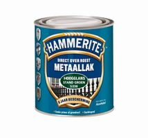Hammerite Metaallak Hoogglans Grijs S018 - 750 ml