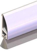 Ellen Borstelstrip Opbouwprofiel Inox RDS-B 100 cm