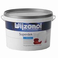 Wijzonol Muurverf Interieur Superdek Mat Wit 2.5 Liter