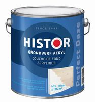 Histor Grondverf Perfect Base Acryl Wit 250 ml