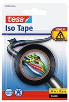 Tesa Isolatietape Zwart 15 mm 10 Meter