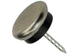 Qlinq Glijnagel Metaal/Rubber - 26 mm 8 Stuks