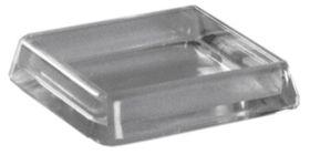 Qlinq Meubelschotel Glashelder Vierkant 50 mm - 2 Stuks