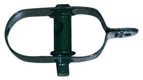 Draadspanner Nr 3 / 100 mm / groen gecoat / per stuk gelabeld