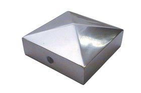Paalafdekkap 71x71mm pyramide alu