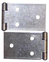 Qlinq Klepscharnier RVS 100 x 32 mm - 2 Stuks