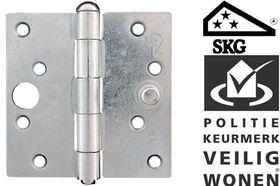 AXA Bouwscharnier Rechte Hoek SKG 89 x 89 mm