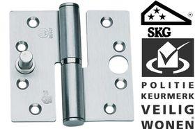 BSW Kogelstiftpaumelle Rechte Hoek SKG Rechts 89 x 89 mm