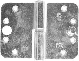 Kogelstiftpaumelle BSW Gegalvaniseerd Veilig Links - 89x127mm