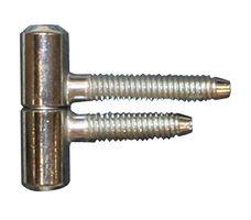 Meubel Inboorpaumelle / 11x029 mm / smal type / staal verzinkt