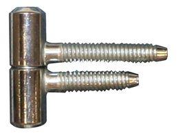 Meubel Inboorpaumelle / 13x035 mm / smal type / staal verzinkt