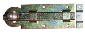 Plaatschuif / 35x100 mm / schootdikte 4 mm / vlak model / staal verzinkt