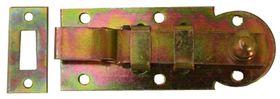 Plaatschuif / 25x060 mm / schootdikte 3 mm / met bocht / staal verzinkt