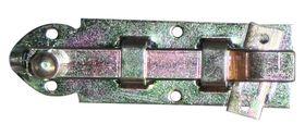 Plaatschuif / 25x080 mm / schootdikte 3 mm / met bocht / staal verzinkt