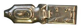 Kistoverval / DX 1 serie / 100x25 mm / staal verzinkt